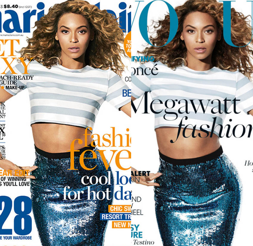 Beyonce Photoshop Cover