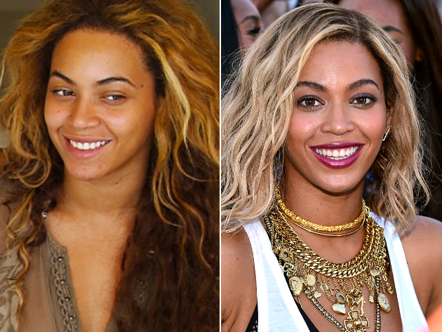 Pictures : They're Just Like Us (If Not Worse)! Celebrities Without Makeup  - Beyonce Without Makeup