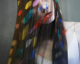 Chalk Hair Color
