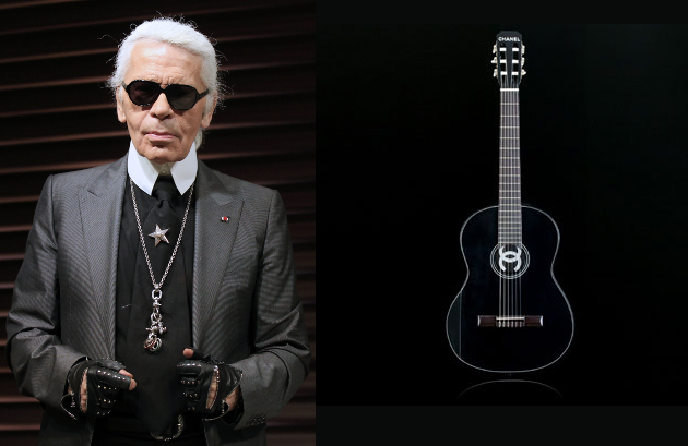 Karl Lagerfeld's Chanel Guitar