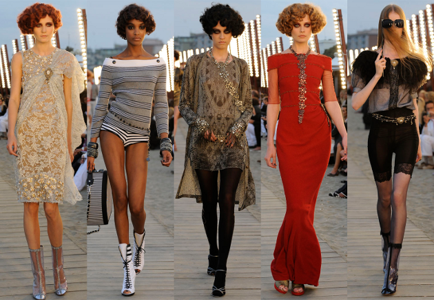 The Chanel Cruise 2010 Collection