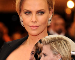 Charlize Theron Hairstyle Met Gala 2014
