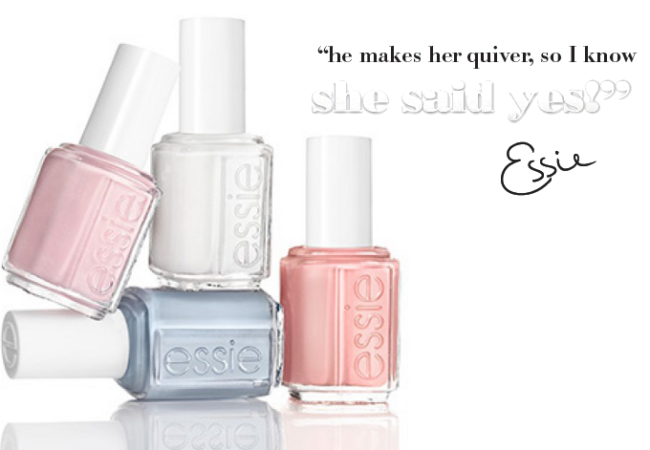 Essie Bridal 2014 Nail Polish Collection
