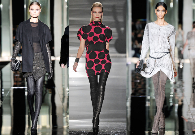 2009 Fall/Winter Thigh High Boots Trend