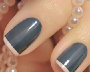 Gray Nail Color