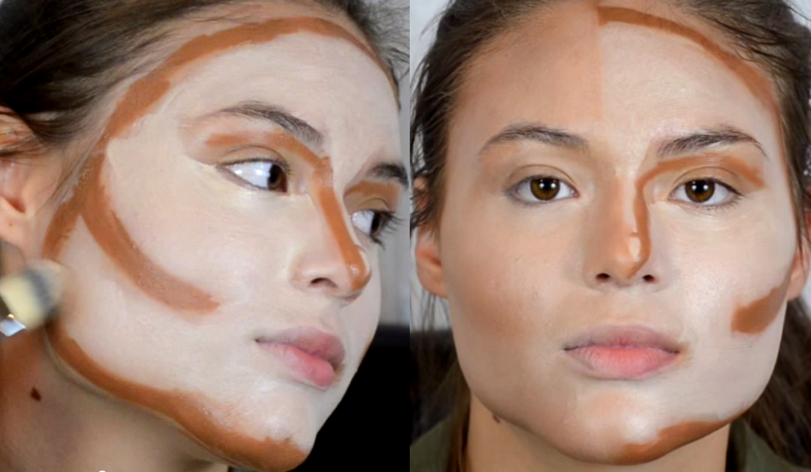 How To Blend Face Contour
