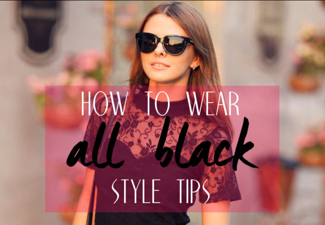 Non-Boring Ways to Wear All Black Outfits