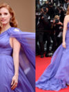 Jessica Chastain Elie Saab Dress Cannes 2014 Red Carpet