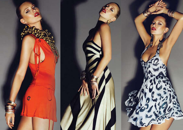 The Kate Moss Topshop High Summer 2009 Collection