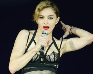 Madonna Breasts Insurance