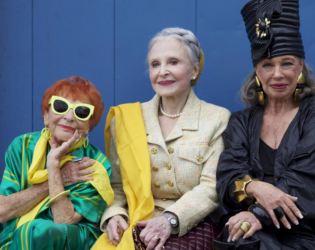 Old Women With Style Nyc