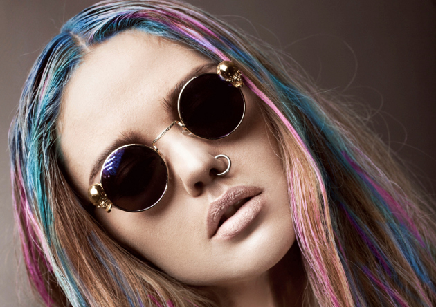 How to Get Rainbow Hair Color