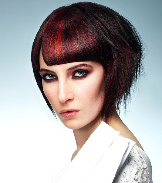 Red Hair Highlights