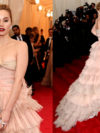 Suki Waterhouse Met Gala 2014 Dress