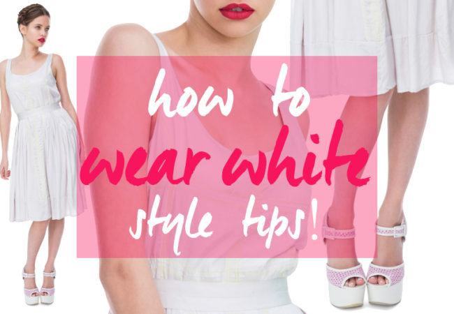 Fashion Rules for Wearing White