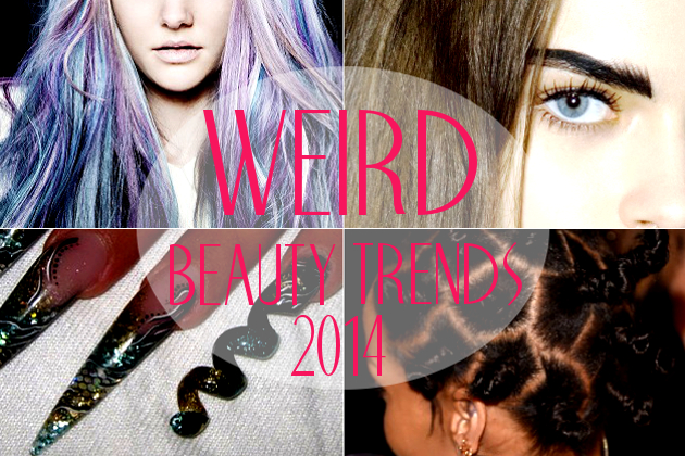 Weirdest Beauty Trends of 2014…So Far!
