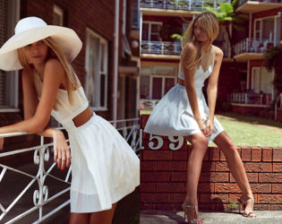 White Dress Outfit For Summer