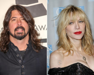 Courtney Love And Dave Grohl Fight