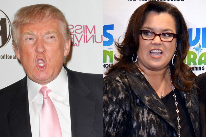 Donald Trump And Rosie O'Donnell Fight