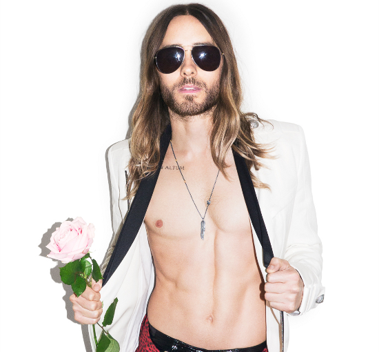 Jared Leto Style For Terry Richardson