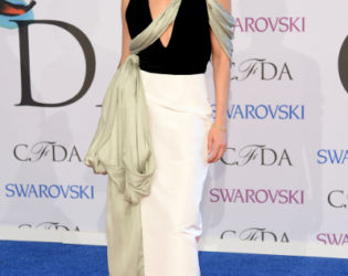 Keri Russell Outfit 2014 Cfda Awards