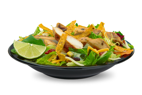 Mc Donald's Premium Southwest Salad With Grilled Chicken