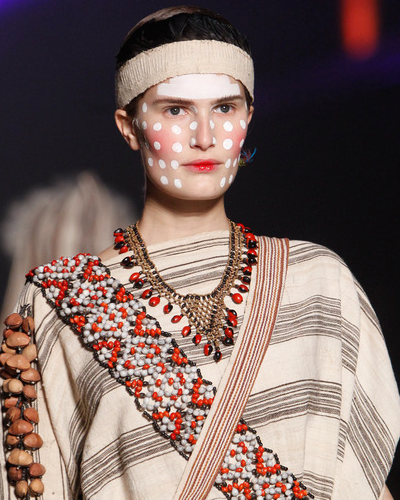 Vivienne Westwood Fall 2014 Tribal Necklace
