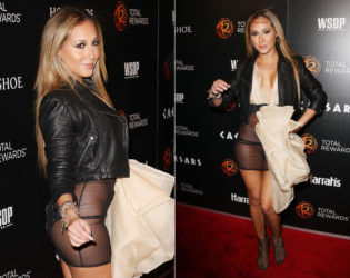 Adrienne Bailon Worst Red Carpet Dress