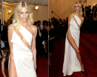 Anja Rubik Worst Red Carpet Dress