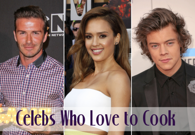 Celebrities Who Love to Cook