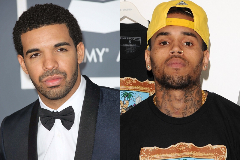 Drake And Chris Brown Fight