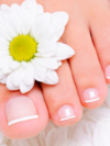 French Tip Pedicure