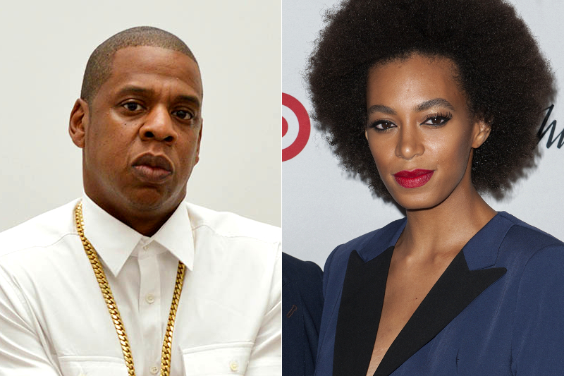 Jay Z And Solange Fight