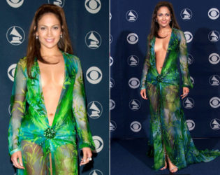 Jennifer Lopez Worst Red Carpet Dress