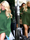 Jessica Simpson No Pants Look