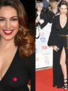 Kelly Brook Nip Slip In See Through Dress
