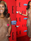 Melody Thornton Nip Slip In See Through Dress
