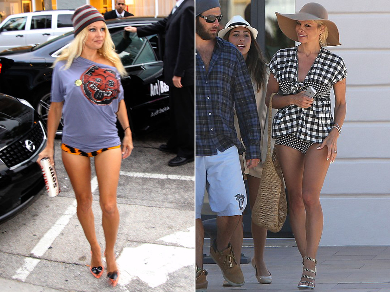 Pamela Anderson No Pants Look