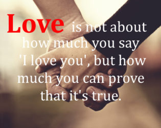 True Love And Marriage Quote