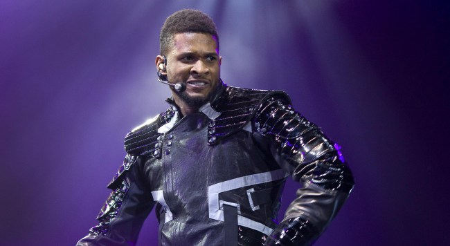 Usher Performing For Dictators