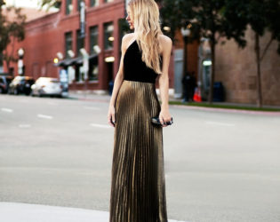 Wedding Guest Outfit One Shoulder Maxi Dress
