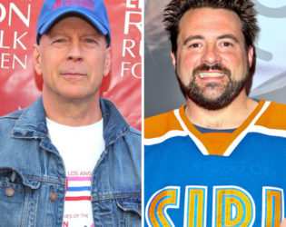 Bruce Willis And Kevin Smith