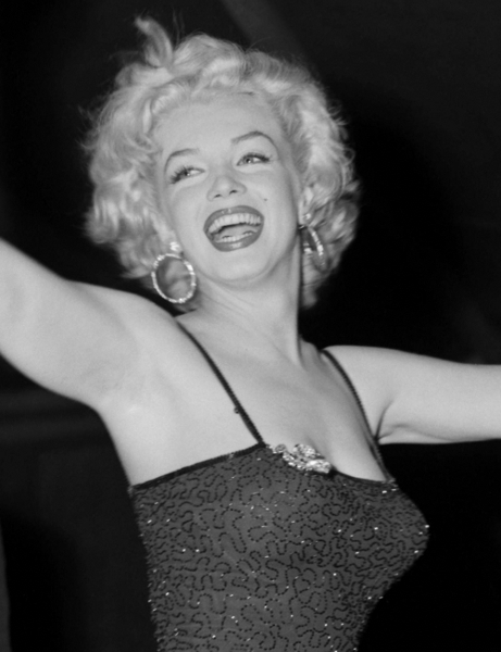 Marilyn Monroe After Performance