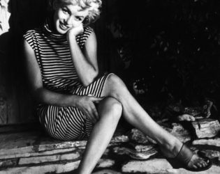 Marilyn Monroe Stripe Dress
