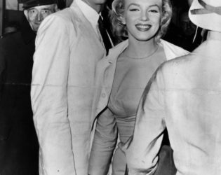 Marilyn Monroe With Husband Arthur