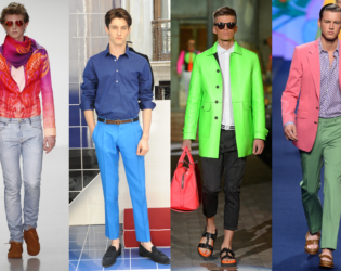 Mens Bold Color Combos Trend Ss 2015