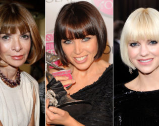 One Length Bob Hairstyles On Celebrities