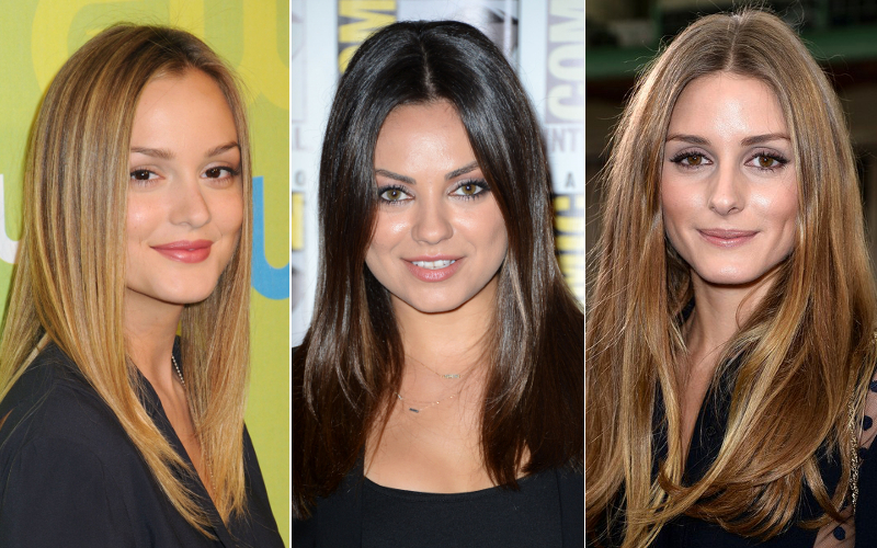 One Length Hairstyles Make You Look Old
