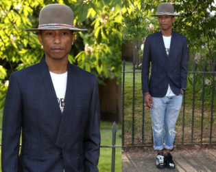 Pharrell Williams Serpetine Party Outfit
