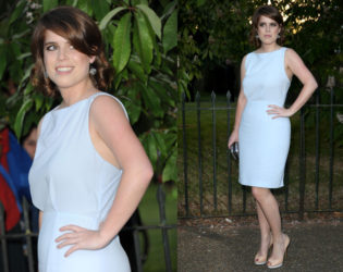 Princess Eugenie Serpetine Party Outfit